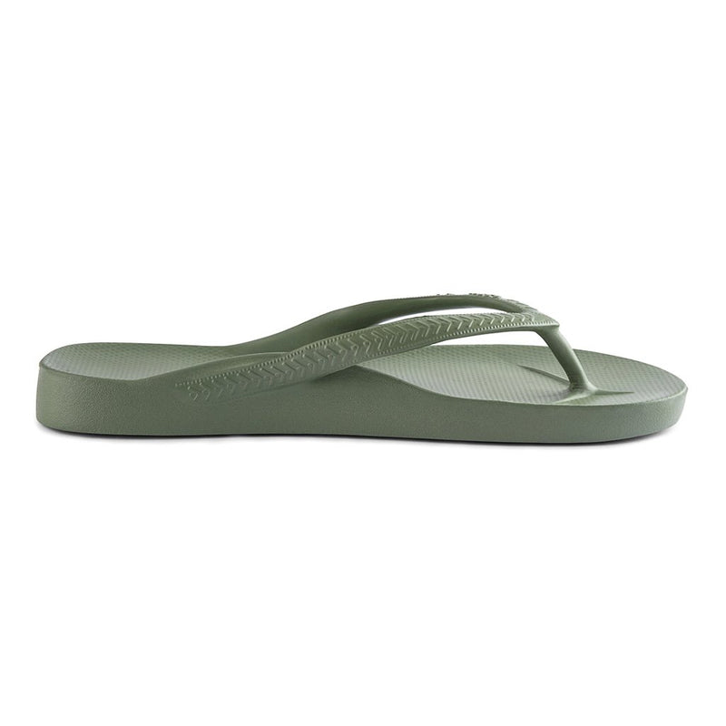 ARCH SUPPORT THONGS - KHAKI