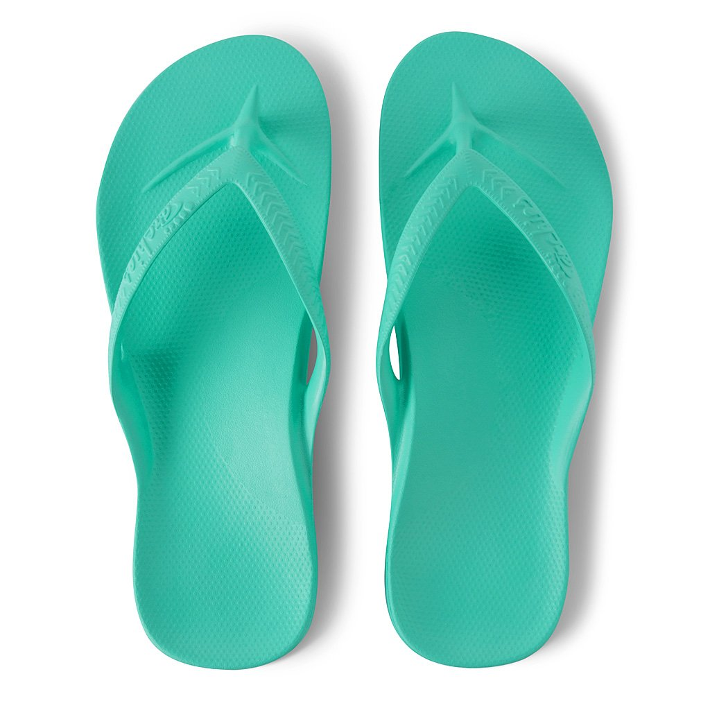 ARCH SUPPORT THONGS - MINT