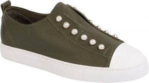 PEARL SHOE - ARMY GREEN