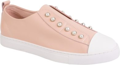 PEARL SHOE - BLUSH/WHITE TOE