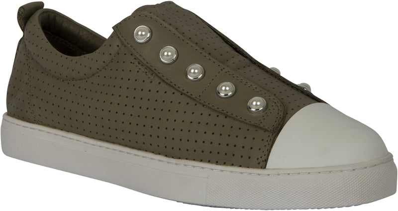 PEARL SHOE (PERFORATED) - LIGHT GREEN
