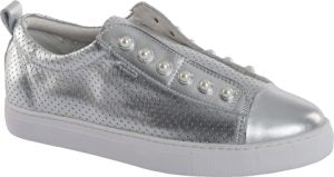 PEARL SHOE (PERFORATED) - SILVER