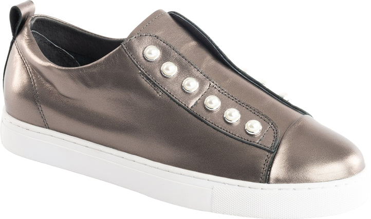 PEARL SHOE - PEWTER