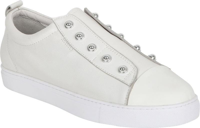 STUD SHOE - CREAM (WHITE)