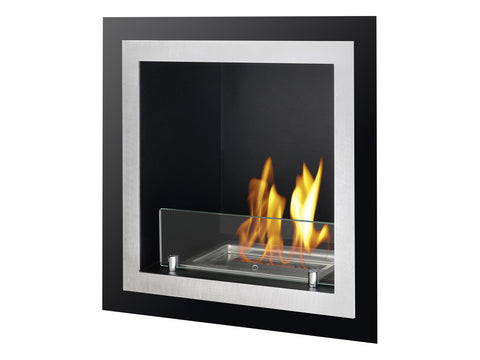 Antalia Recessed Ventless Ethanol Fireplace - UL/CUL
