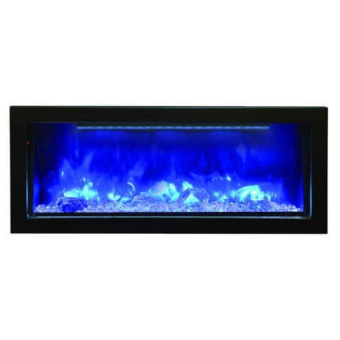 BI-40-DEEP – 40″ Deep Indoor or Outdoor Electric Fireplace