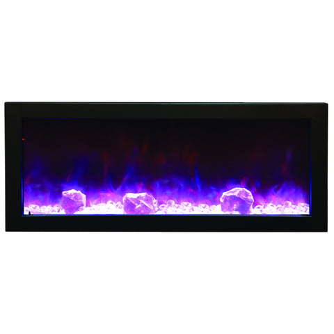 BI-40-SLIM – 40″ Slim Indoor or Outdoor Electric Fireplace – 2016