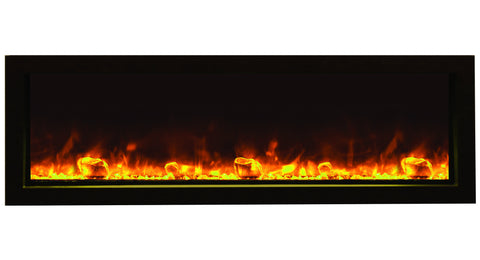BI-50-SLIM – 50″ Slim Indoor or Outdoor Electric Fireplace – 2016