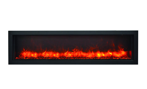 BI-60-SLIM – 60″ Slim Indoor or Outdoor Electric Fireplace – 2016