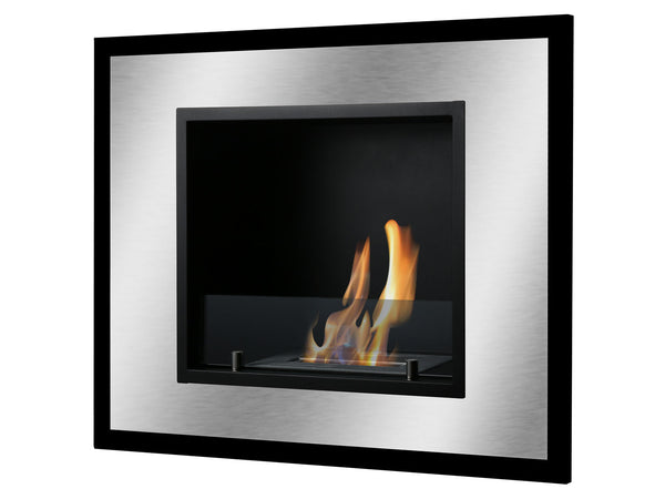 Bellezza Mini Wall Mounted Recessed Ventless Ethanol