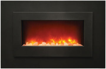 Electric Unit Black Steel Surround & overlay