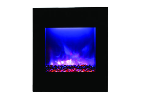 "AMANTII 24"" VERTICAL BUILT-IN/ WALL MOUNTED/ CORNER ELECTRIC FIREPLACE"