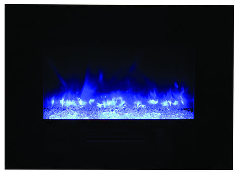 Wall Mount / Flush Mount Electric Fireplace.