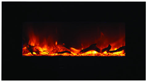 34″ Wall Mount / Flush Mount Electric Fireplace.
