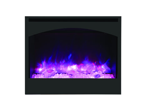 "Amantii 31"" Zero Clearance Electric Fireplace"