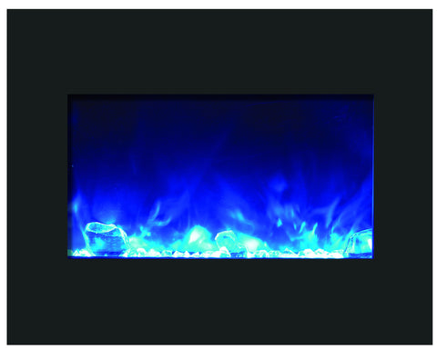 "Amantii 26"" Zero Clearance Electric Fireplace"