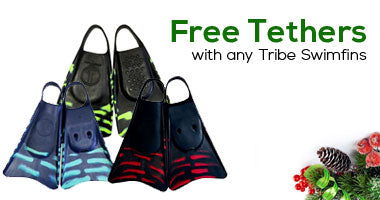 Free Tethers with Tribe Swimfins