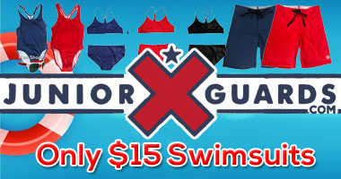 All Junior Guard suits only $15