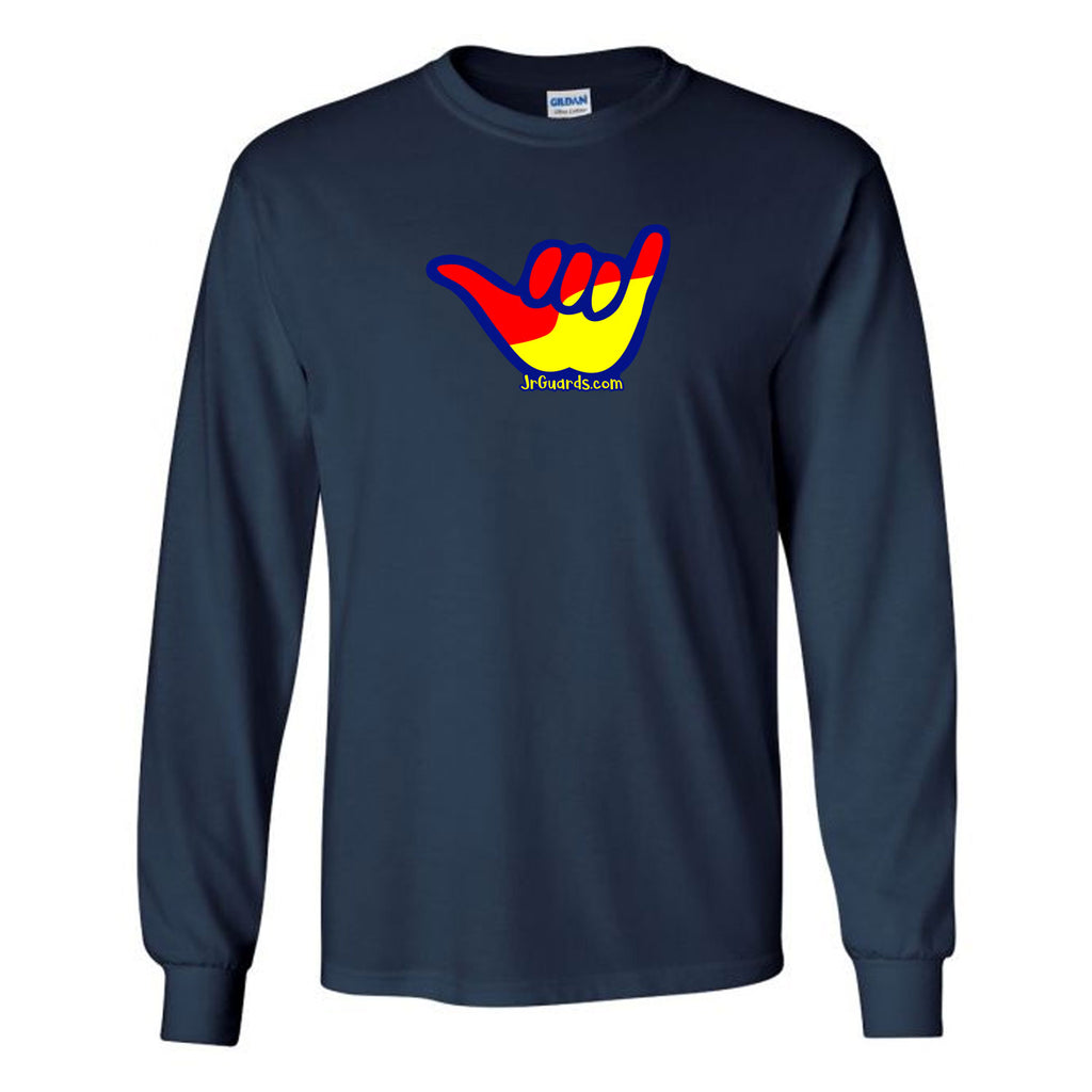 Jr. Guards Shaka Long Sleeve T-Shirt Cotton/Polyester