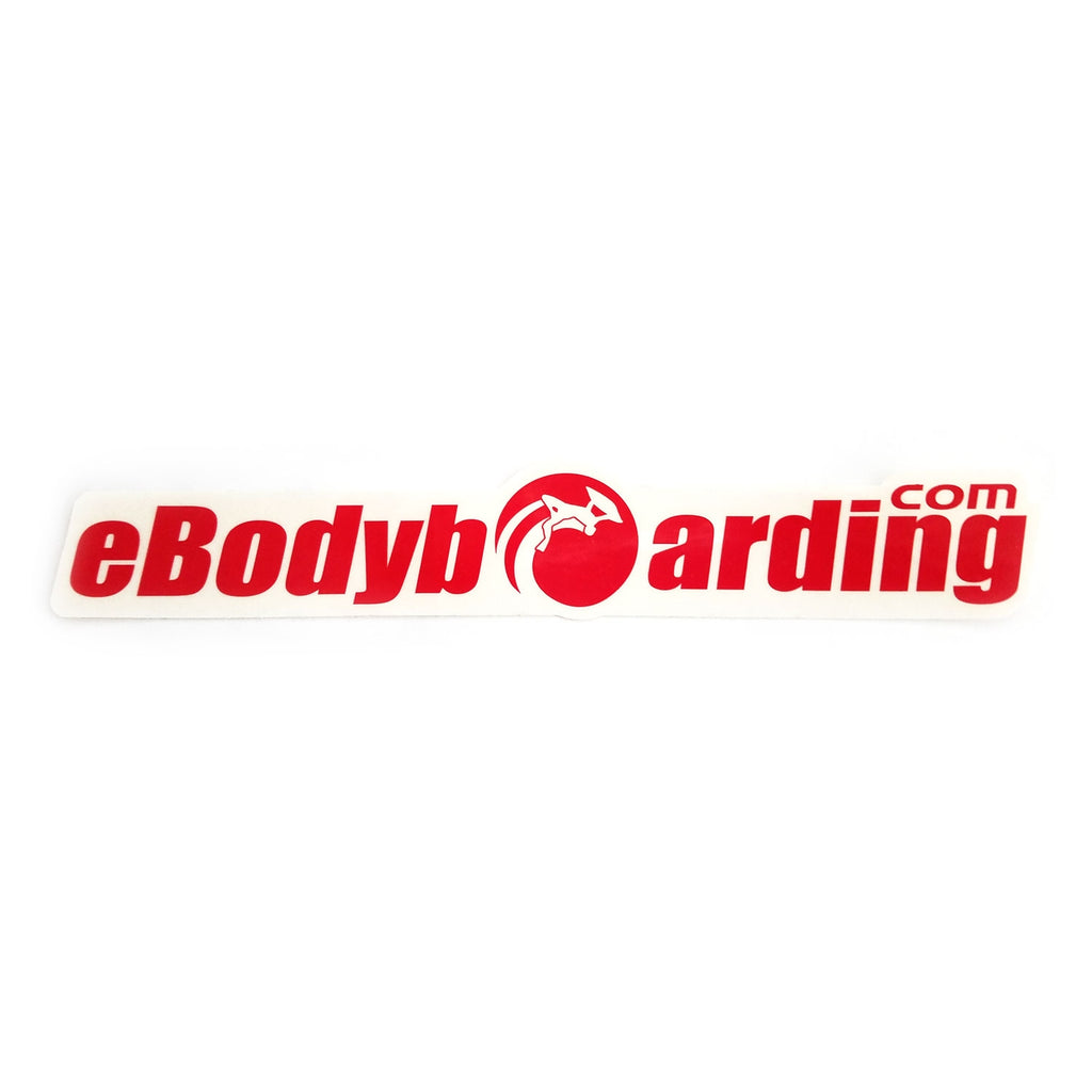 eBodyboarding.com Launch-O 9 Sticker - Red