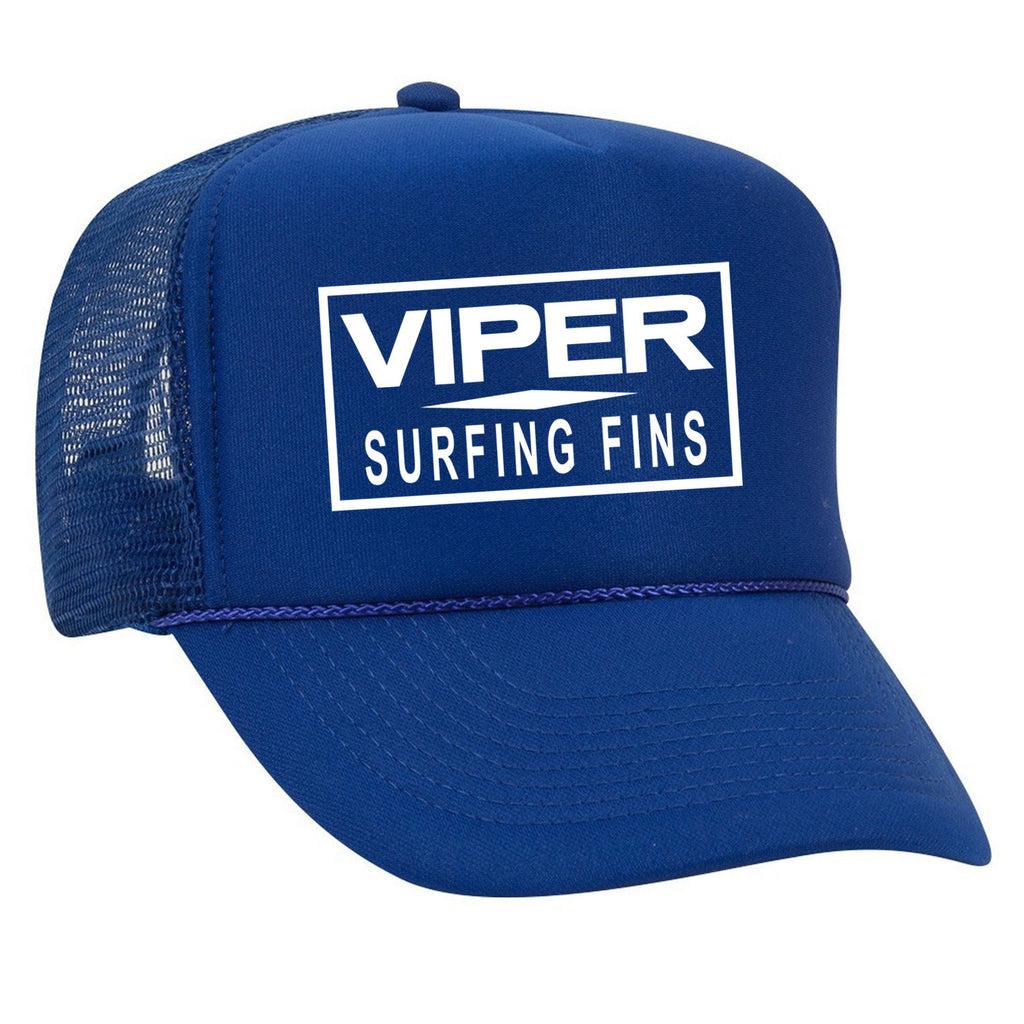 VIPER A-frame Snapback hat Red on Red