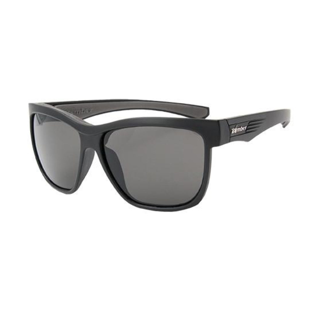 Bomber Sunglasses - Jaco Bomb Matte Black Frm / Smoke Pc Lens / Gray Foam