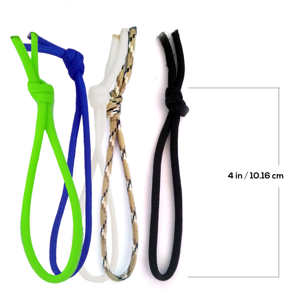 "Leash String Cord - 4"" Loop 4 Pack"