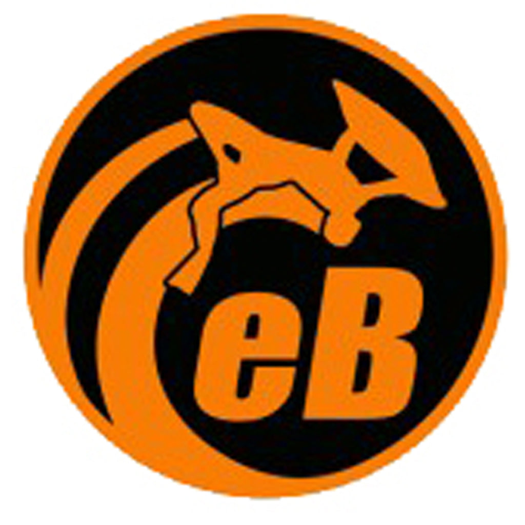 "eBodyboarding.com 3"" Eclipse Sticker - Orange"