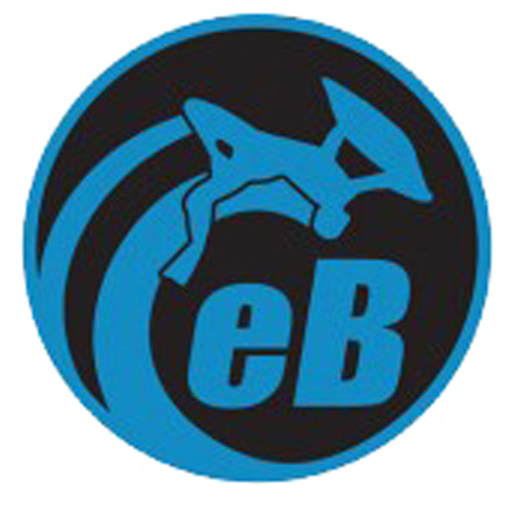 "eBodyboarding.com 3"" Eclipse Sticker - Blue"
