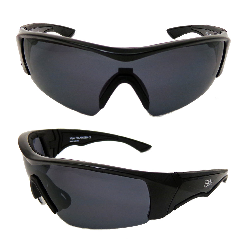 Seaspecs aFloat Viper Floating Sunglasses - Black