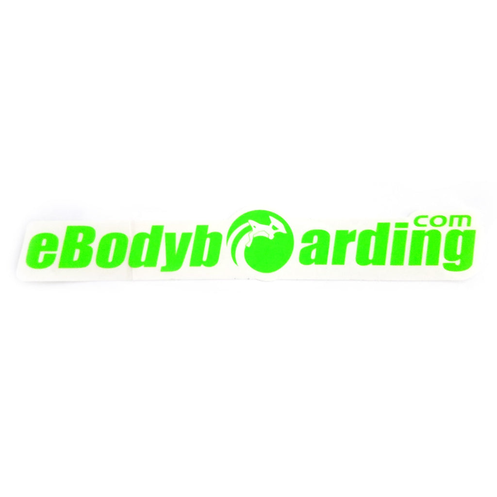 eBodyboarding.com Launch-O 9 Sticker - Lime Green