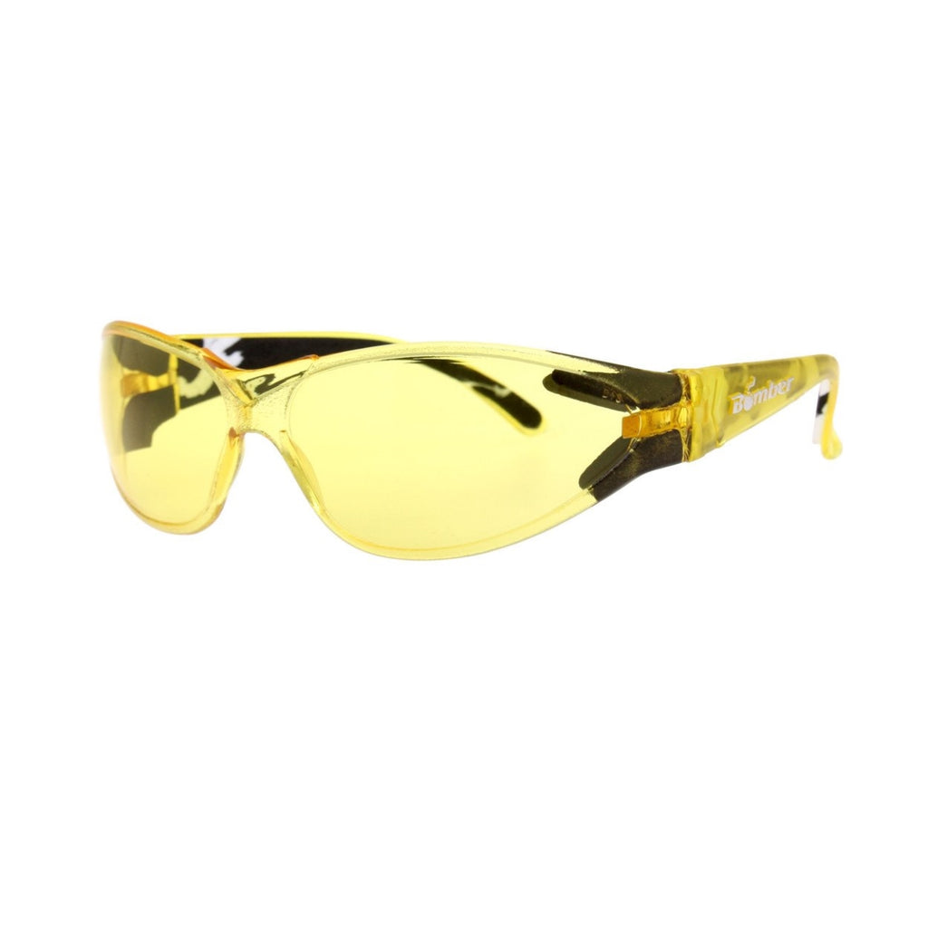 Bomber Sunglasses - A-Bomb Yellow W/ Foam