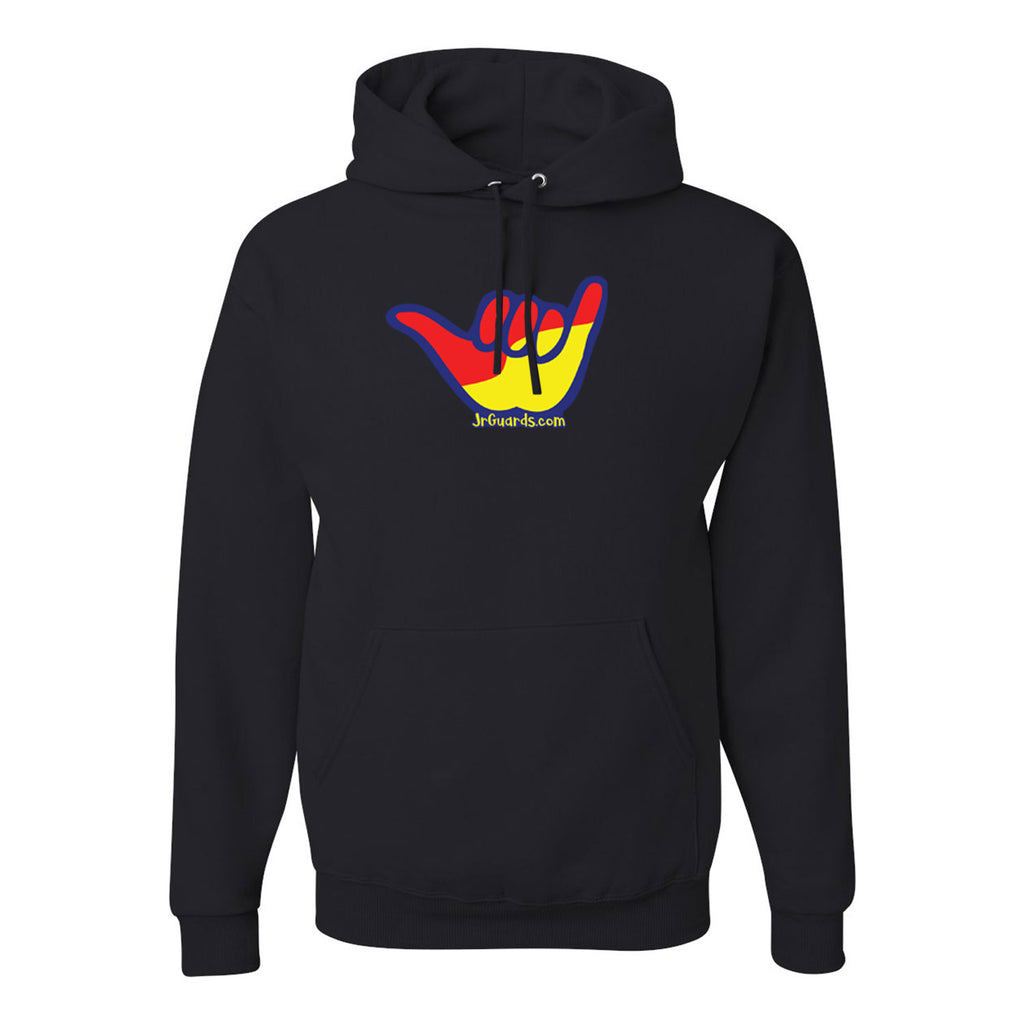 Jr. Guards Shaka Hooded Pullover Sweatshirt Cotton/Polyester