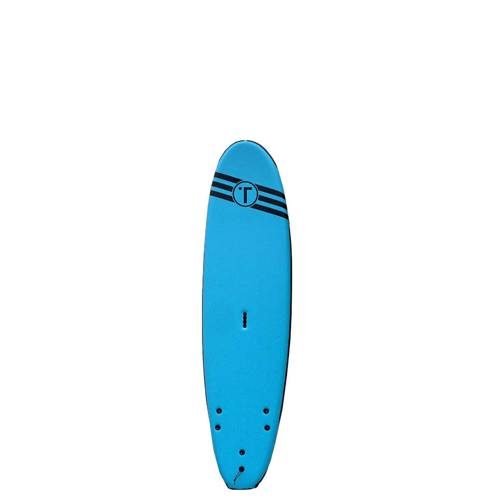 Tribe Boards 7',8',9' Soft Surfboard with reinforced edges & carry handle