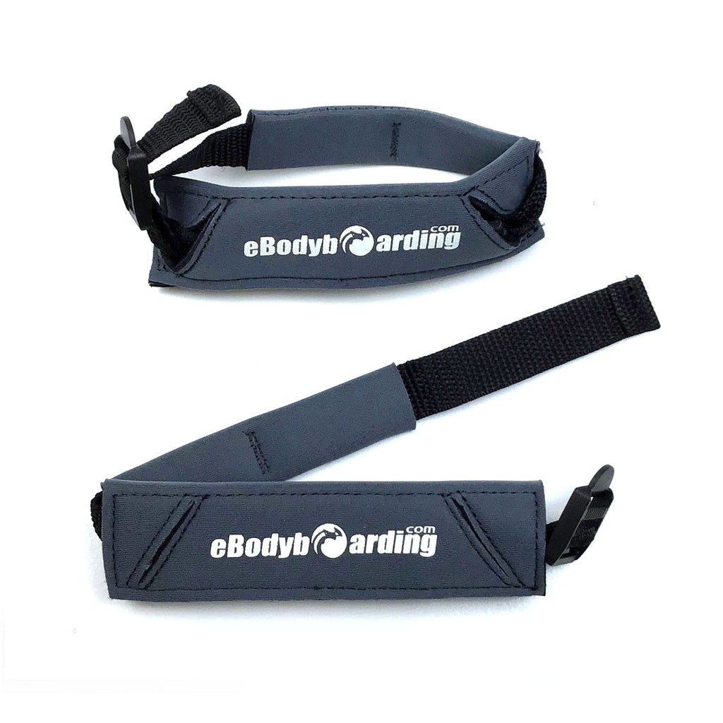 eBodyboarding.com Shackle Heel Pad Fin Cinch - Small - Grey