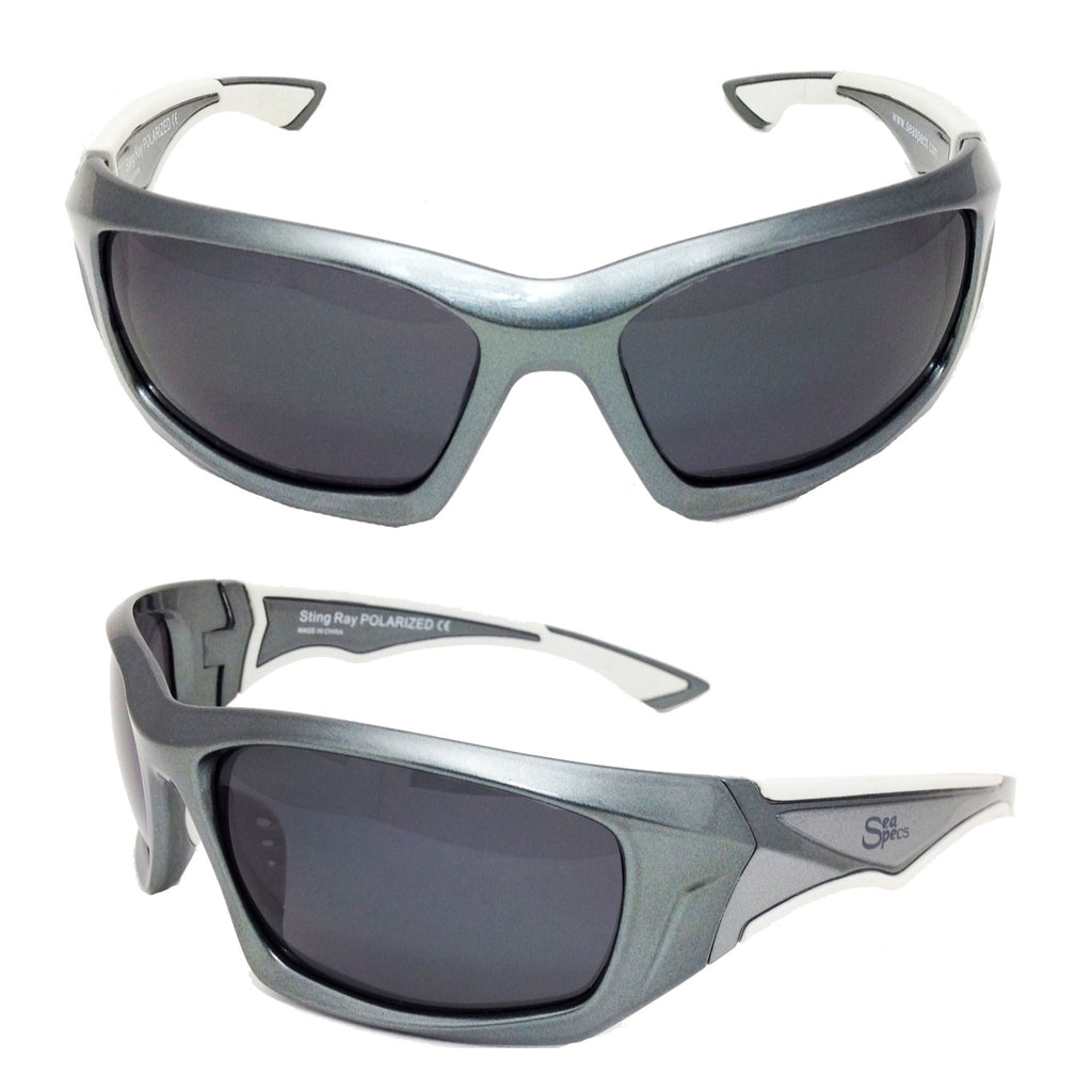 Seaspecs aFloat Stingray Floating Sunglasses - Grey
