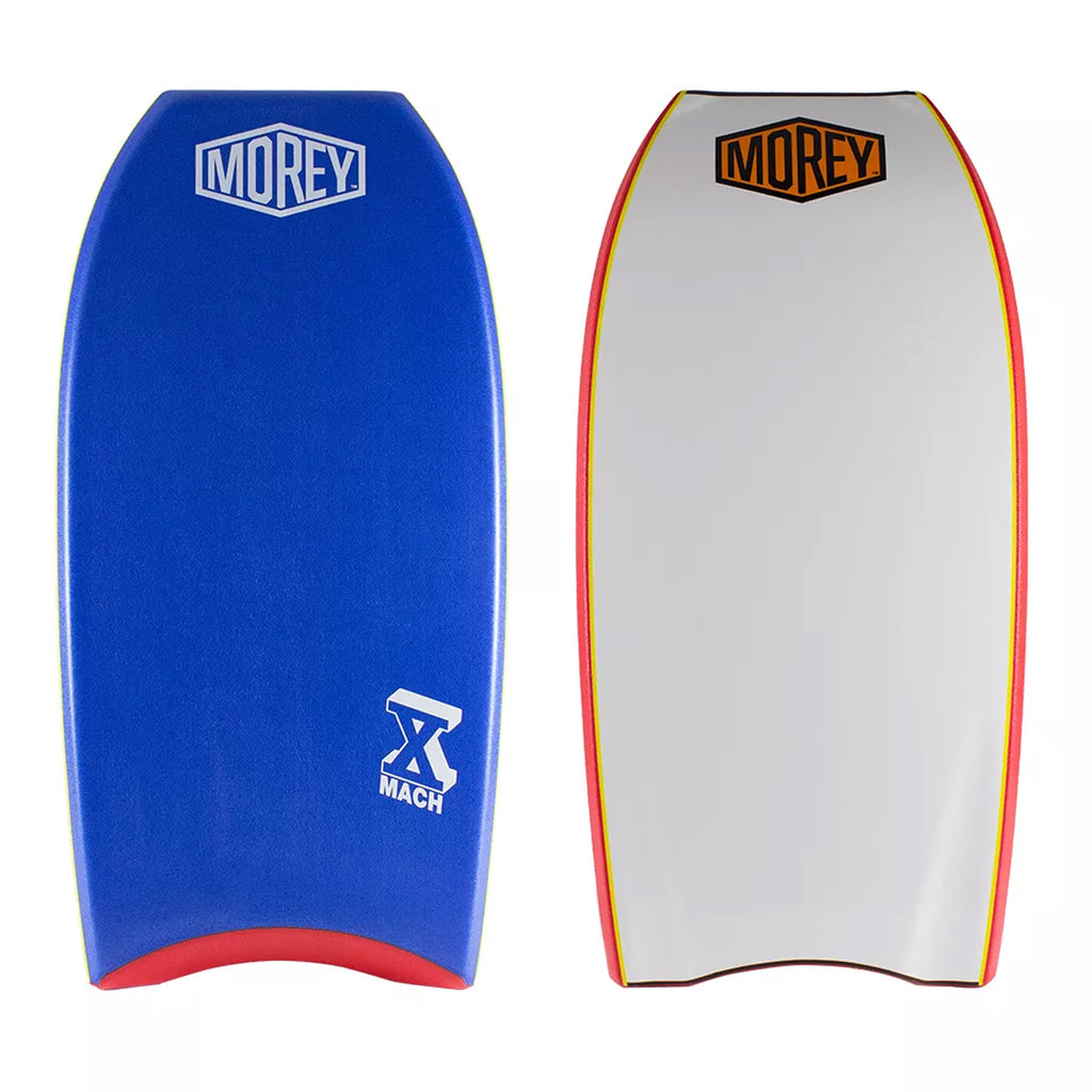 "Morey Bodyboard Mach 10 ( Mach X ) 42"" - Blue / Red / White"