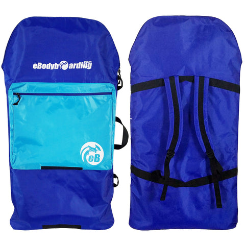 eBodyboarding.com Kids Sack - Blue, Light Blue Pocket