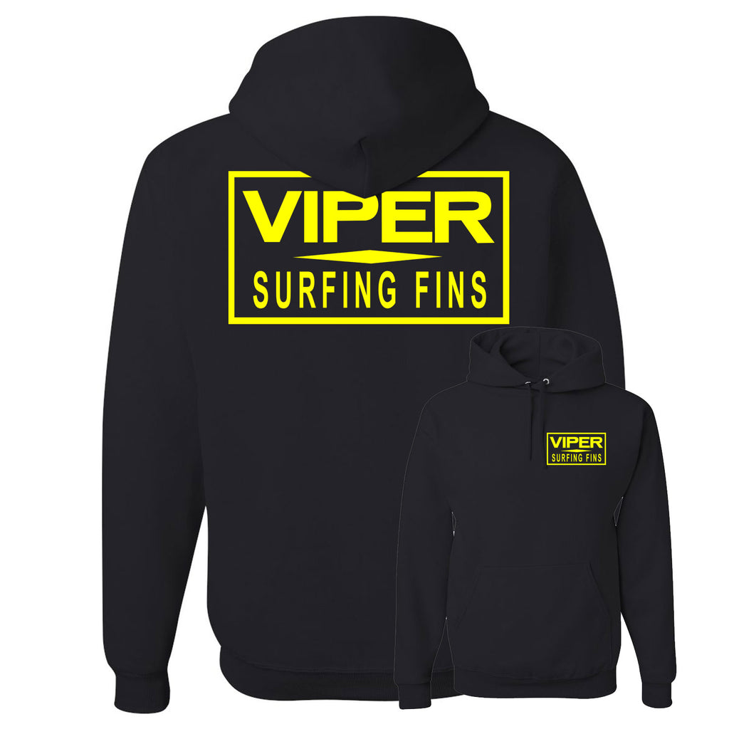 Viper White Bar Pullover Sweatshirt - Black / Yellow - 2XL