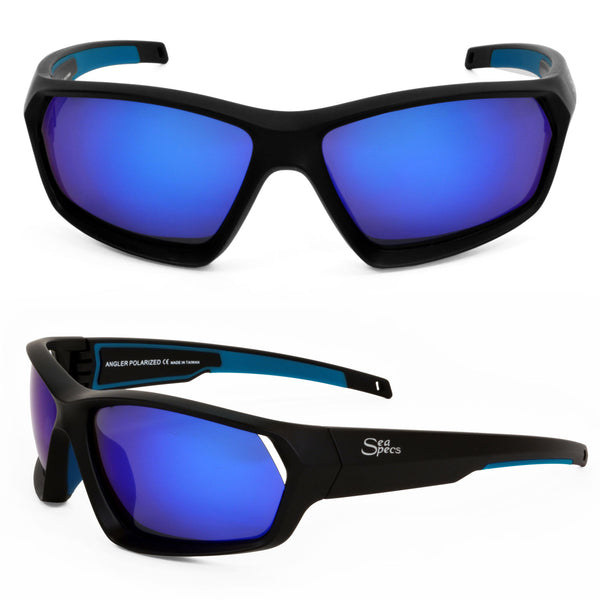 Seaspecs Sunglasses - Angler With Blue Lenses