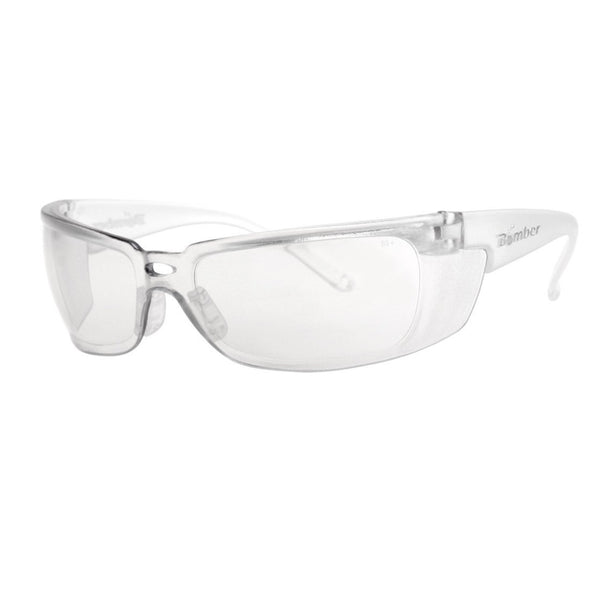 Bomber Sunglasses - Z Bombs Clear Safety