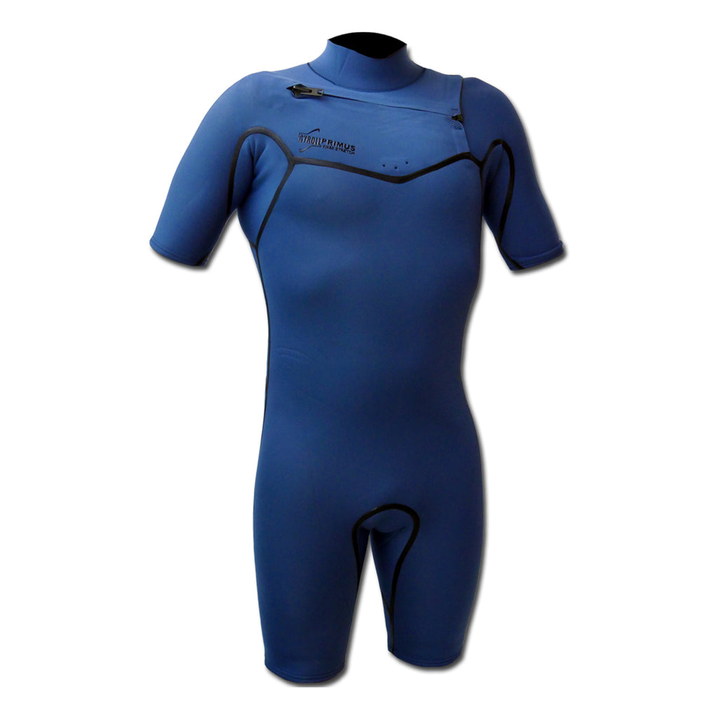 Mike Stewart Gyroll Primus SS 2MM Spring Suit - Cascade Blue - L