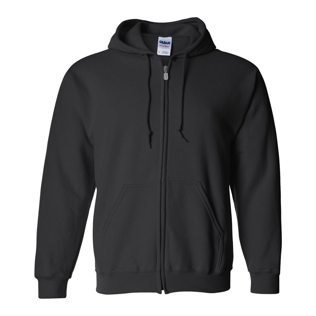 Full-Zip Hooded Sweatshirt Cotton/Polyester
