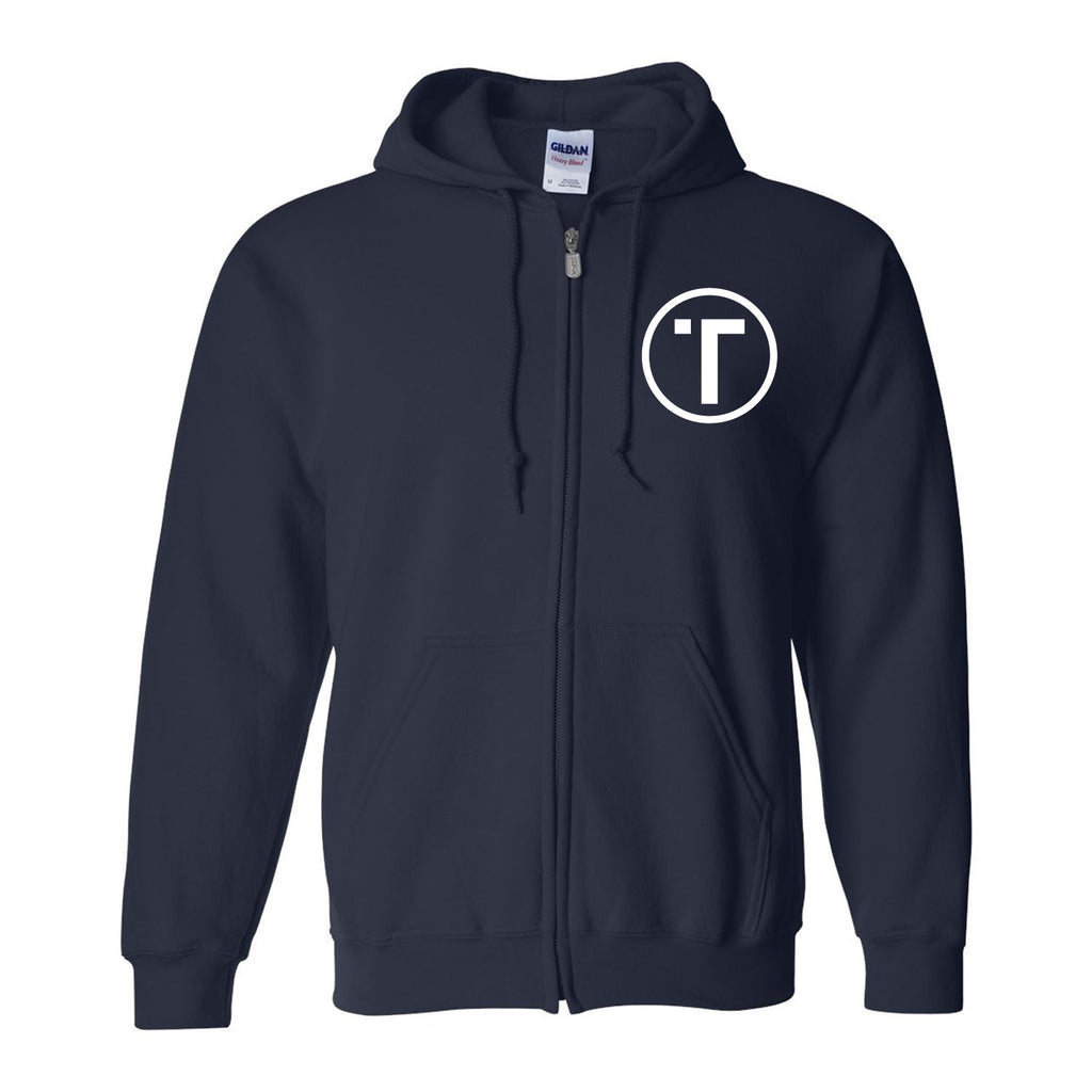 Tribe Full-Zip Hooded Sweatshirt Cotton/Polyester