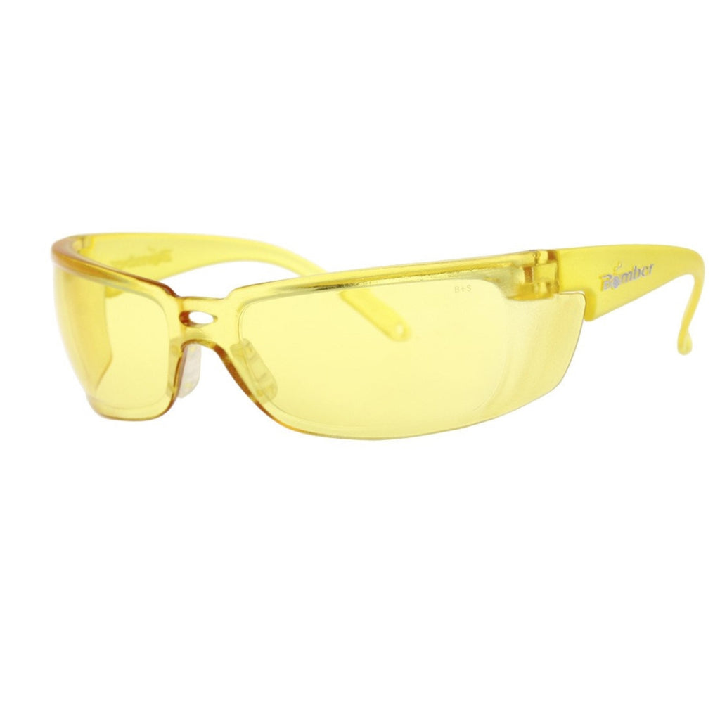 Bomber Sunglasses - Z Bombs Yellow Safety