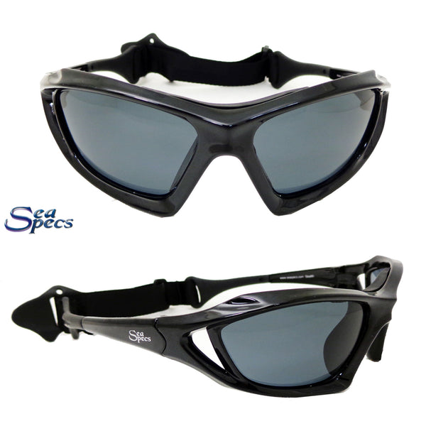 Seaspecs Stealth Floating Sunglasses - Black