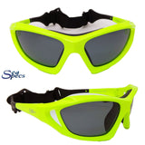 Seaspecs Stealth Floating Sunglasses - Neon Green