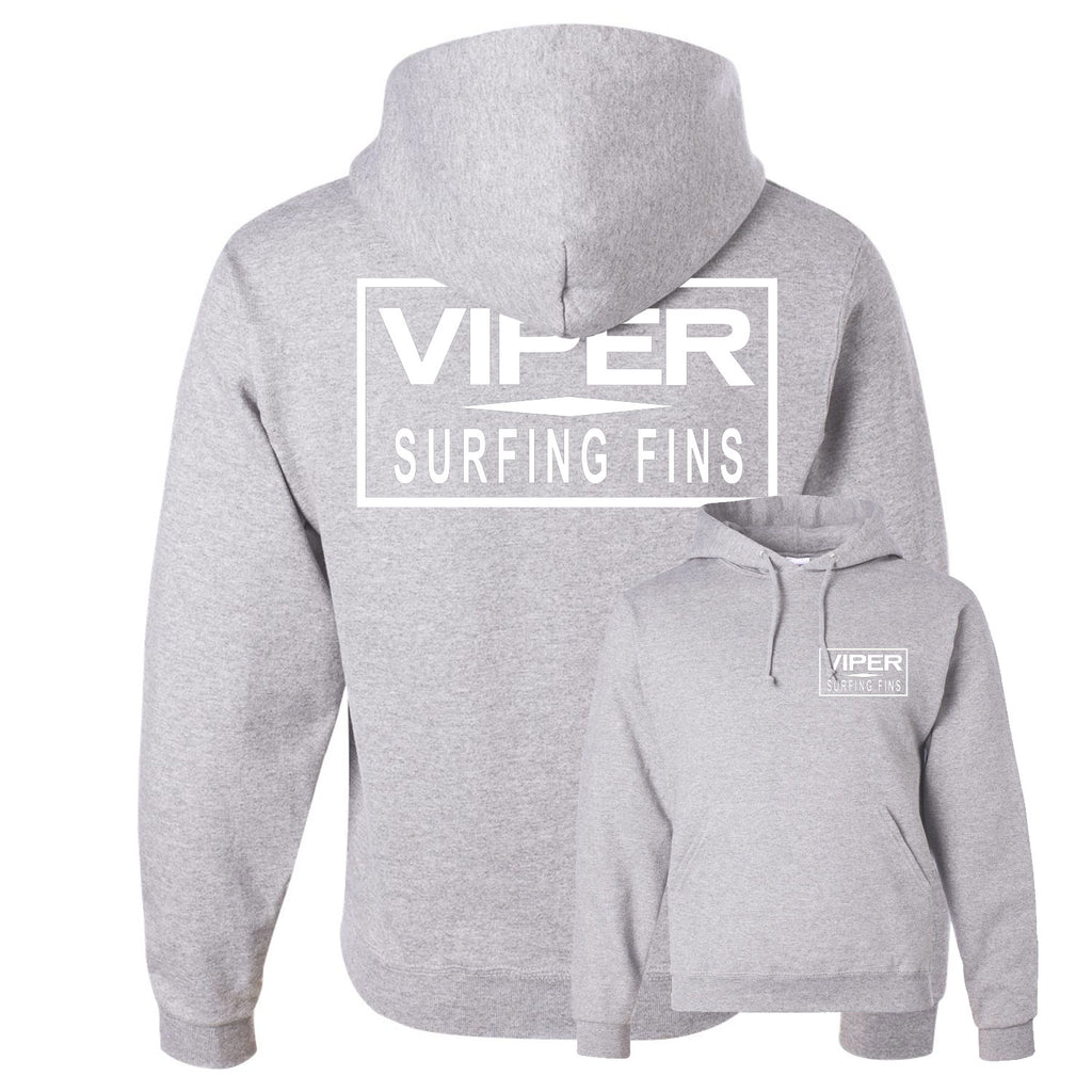Viper Swimfins Bar Hooded Pullover Sweatshirt