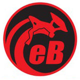 "sseBodyboarding.com 3"" Eclipse Sticker - Red Stickers eBodyboarding.com"
