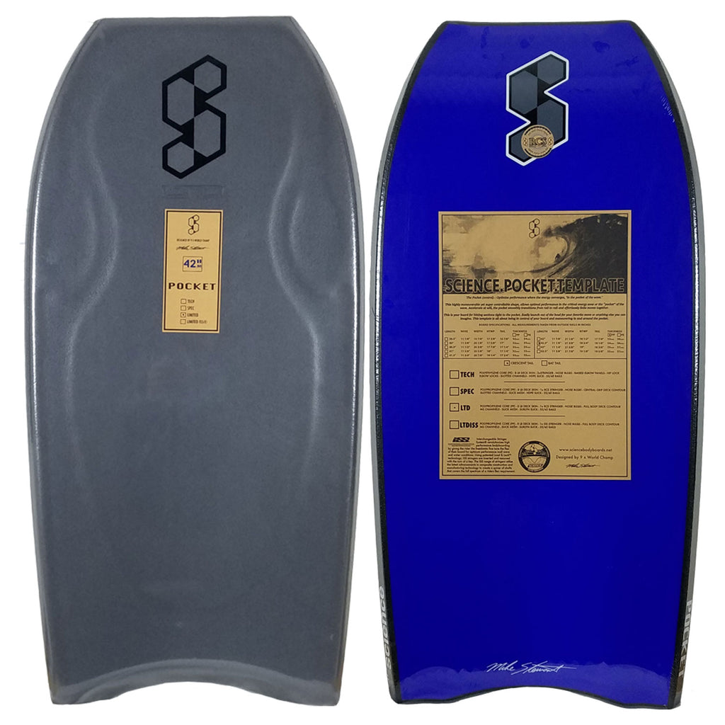 Mike Stewart Science Pocket LTD CT Bodyboard
